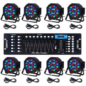 Co-Z LED DMX Stage Lights for $300