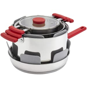 Denmark Stax 7-Piece Stainless Steel Stackable Cookware Set for $59...or less