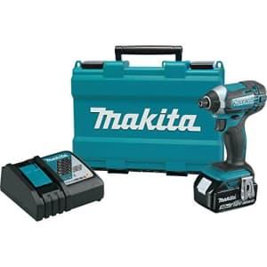 Makita XDT111 3.0 Ah 18V LXT Lithium-Ion Cordless Impact Driver Kit for $151