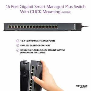 Netgear ProSAFE GSS116E 16-port web managed gigabit switch for $100