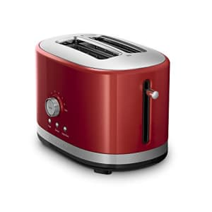 KitchenAid KMT2116ER 2 Slice Slot Toaster with High Lift Lever, Empire Red for $80