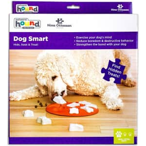 Outward Hound Interactive Puzzle Dog Toy for $8