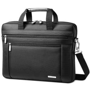 Samsonite Shuttle Laptop Briefcase for $26