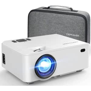 DBPower Mini Projector with Carry Case for $119