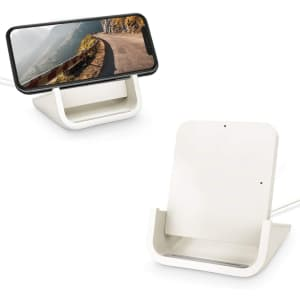 Yuwiss Qi-Certified Wireless Charging Stand for $7