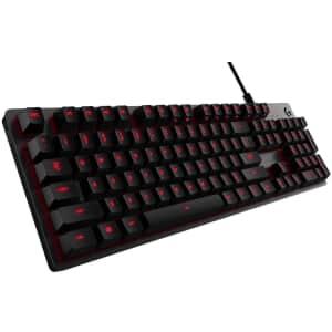 Logitech G413 Backlit Mechanical Gaming Keyboard for $64