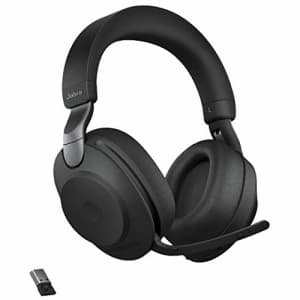 Jabra Evolve2 85 UC Wireless Headphones with Link380a, Stereo, Black Wireless Bluetooth Headset for for $449