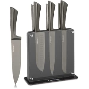 Cuisinart Onyx Space-Saving 8-Piece Cutlery Set w/ Magnetic Block for $68