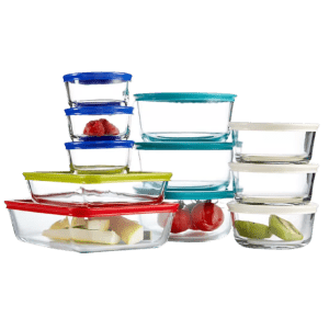 Pyrex 22-Piece Food Storage Container Set for $30
