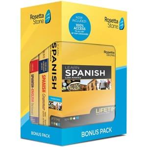 Rosetta Stone Bundles at Amazon: for $167