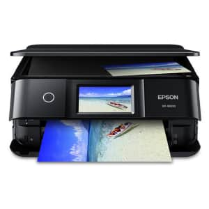 Epson Expression Photo XP-8600 Small-in-One Printer for $200