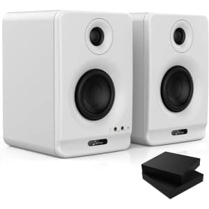"""Donner Dyna 3"""" Bluetooth Studio Monitor 2-Pack for $65"""