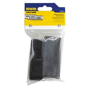 IRWIN Tools QUICK-GRIP Replacement Pads for XP600 Clamps, 2-Pack (1826576),Black,Small for $7