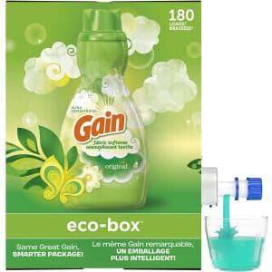 Gain Eco-Box 180-Load Liquid Fabric Softener for $7.96 w/ Sub & Save