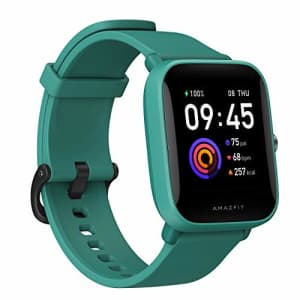 Amazfit Bip U Health Fitness Smartwatch with SpO2 Measurement, 9-Day Battery Life, Breathing, Heart for $76