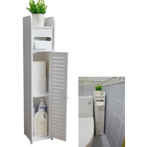 "Aojezor 32"" Bathroom Storage Cabinet for $18"