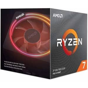 AMD Ryzen 7 3700X 8-Core, 16-Thread Unlocked Desktop Processor with Wraith Prism LED Cooler for $306
