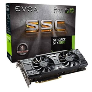 EVGA GeForce GTX 1060 GAMING, ACX 2.0 (Single Fan), 6GB GDDR5, DX12 OSD Support (PXOC)… for $652