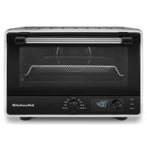 KitchenAid KCO124BM Digital Countertop Oven with Air Fry, Black Matte for $179
