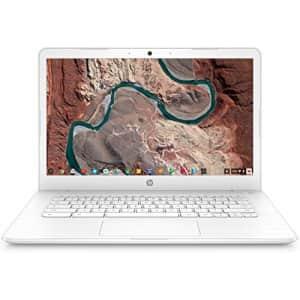 "HP Chromebook 14, 14"" Full HD Touchscreen Display, Intel Celeron N3350, Intel HD Graphics 500, 32GB for $449"