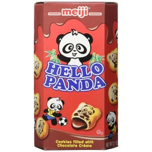 Meiji Hello Panda Cookie 2.1-oz. Box 10-Pack for $19