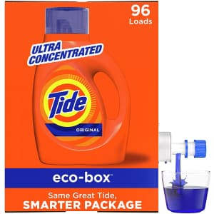 Tide 105-oz. Eco-Box Concentrated Liquid Laundry Detergent for $14 via Sub & Save