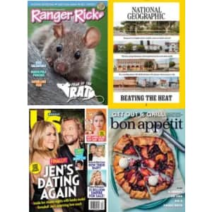 DiscountMags Multi-Year Magazine Sale: from $3.75 per year