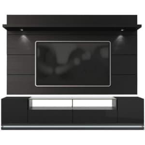 Manhattan Comfort Vanderbilt TV Stand w/ Cabrini 2.2 Wall Panel for $661