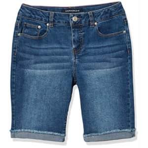 Calvin Klein Girls' Big Short, S20 Authentic Bermuda, 12 for $37