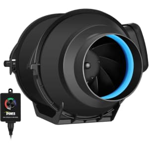 """iPower 4"""" Inline Duct Fan w/ Variable Speed Controller for $50"""