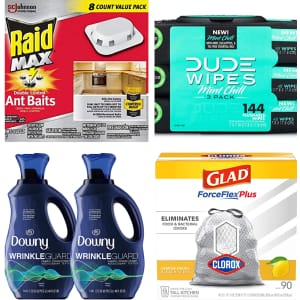 Household Essentials at Amazon: $15 off $50