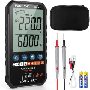 Fochanc Digital Multimeter for $35