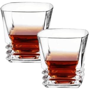 BarBinge Whiskey Lovers Glassware Set for $30