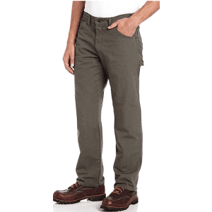 Dickies Men's Relaxed Fit Straight-Leg Duck Carpenter Jeans for $15