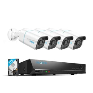 Reolink 4K 8-Channel NVR PoE Security Camera Kit w/ 2TB HDD for $420