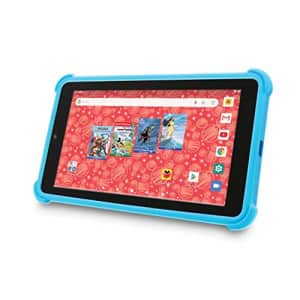 """Venturer Small Wonder 7"""" Android Kids Tablet with Disney Books, Bumper Case & Google Play, 16GB for $60"""