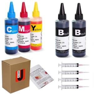 Jetstir Canon Inkjet Compatible Refill Ink Kit for $13