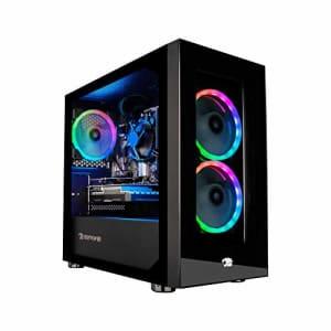 iBUYPOWER Gaming PC Computer Desktop Element Mini 9300 (AMD Ryzen 3 3100 3.6GHz, AMD Radeon RX 550 for $591