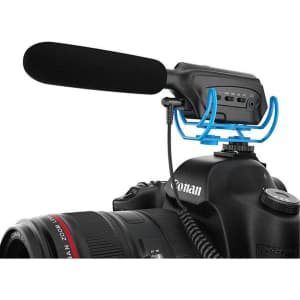 Moukey DSLR Interview Microphone for $4