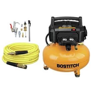 BOSTITCH Air Compressor Kit, Oil-Free, 6 Gallon, 150 PSI (BTFP02012-WPK) for $170