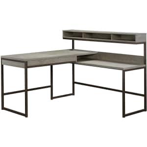 """Sauder Manhattan Gate 59"""" L-Shaped Desk for $300"""