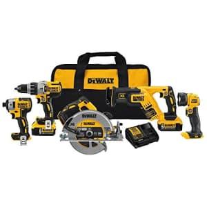 DeWalt 20V Max XR 5-Tool Combo Kit for $749