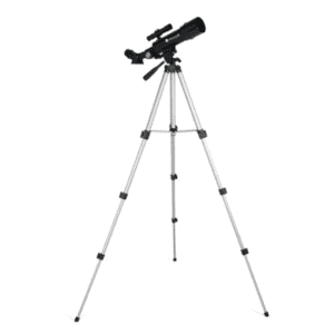 Zhumell Z50 Portable 50mm AZ Refractor Telescope w/ Smartphone Adapter for $46