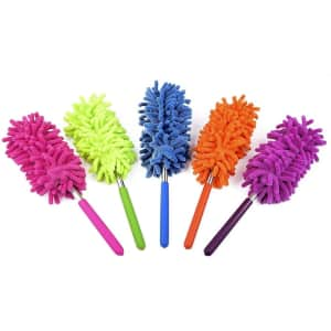 RoseFinch Fang Washable Duster 5-Pack for $8