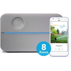 Rachio R3e Generation Smart 8-Zone Sprinkler Controller for $150