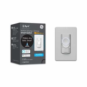 C by GE 3-Wire Smart Motion Sensor Light Switch, Smart Dimmer Switch Compatible with Google Home + for $60