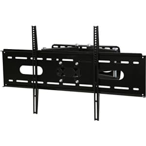 """Rosewill TV Wall Mount Bracket with Dual Articulating Arm, Full Motion Swivel and Tilt for 42"""" - for $45"""