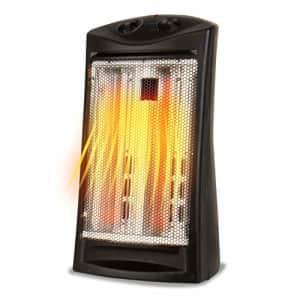 Black + Decker BLACK+DECKER BHTI06 Infrared Quartz Tower Heater with Manual Control (Renewed) for $18