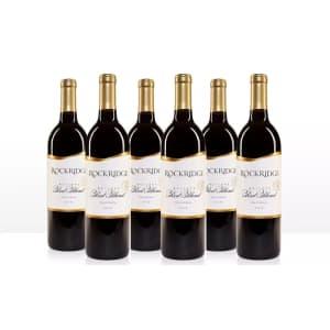 Rockridge Reserve 2018 Red Blend Wine Sampler 6-Pack for $45
