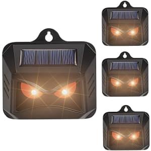 Thanos Solar Nocturnal Animal Repeller 4-Pack for $42